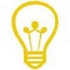 Yellow Lightbulb Icon